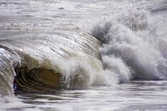 波浪在安大路西亚西班牙 库存图片