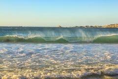 波浪在开普敦 图库摄影