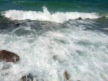 波浪在泰国 免版税图库摄影