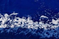波浪在海洋 库存图片