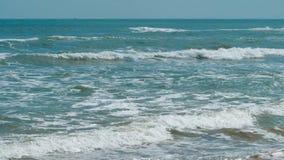 波浪在海 影视素材