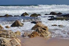 波浪展示 免版税库存图片