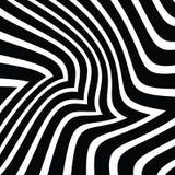 波浪抽象传染媒介背景  库存例证