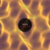 波浪抽象例证 库存图片