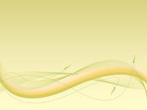 波浪抽象的背景 库存图片