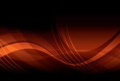 波浪抽象的背景 图库摄影