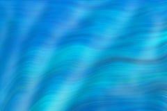 波浪抽象的蓝线 库存例证