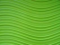 波浪抽象背景的绿色 免版税库存照片