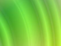 波浪抽象背景的绿色 向量例证