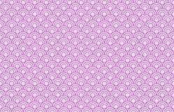 波浪无缝的样式背景概念样式 向量例证