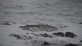 波浪流失通过托尔的井 影视素材