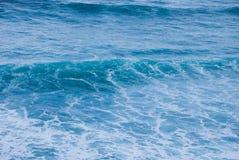 波浪的形成在海洋, Barwon朝向,维多利亚,澳大利亚 免版税图库摄影