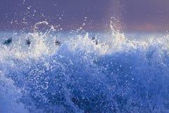 波浪的摘要 免版税库存照片