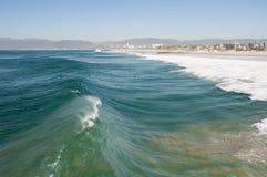 波浪的诞生 库存照片