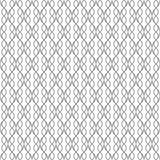 波浪线的无缝的样式 几何墙纸 异常的拉特 免版税库存图片
