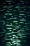 波浪背景绿色 免版税库存照片