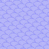 波浪蓝色抽象背景  图库摄影
