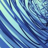 波浪螺旋背景 库存图片
