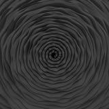 波浪螺旋背景 免版税库存图片