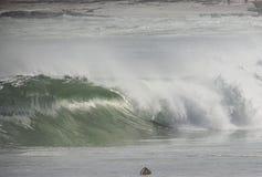 波浪行动 库存图片