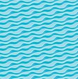 波浪起伏的形式 免版税库存照片