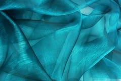 波浪透明硬沙织品 免版税库存照片