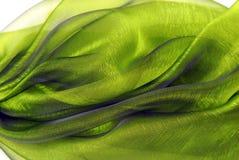 波浪透明硬沙织品 免版税图库摄影