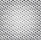 波浪金属模式无缝的向量 免版税库存图片