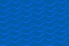 波浪 模式无缝的向量 EPS10 库存照片