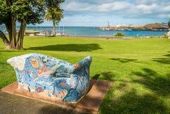 波特兰在维多利亚,澳大利亚,在夏天 免版税图库摄影