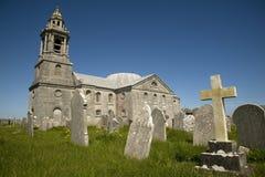 波特兰教会 免版税库存照片
