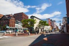 波特兰是U的大城市 S 俄勒冈状态 免版税库存图片