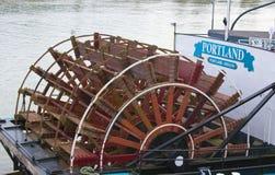 波特兰汽船 库存图片
