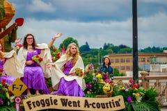 波特兰盛大花卉游行2017年 免版税库存图片