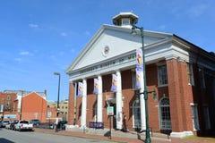波特兰缅因,缅因,美国的儿童的博物馆 免版税库存照片