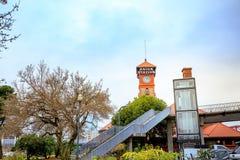 波特兰联合驻地是美国国家铁路公司火车站被找出的ne 免版税库存图片