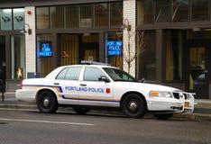 波特兰警察 库存图片