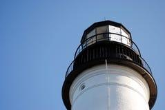 波特兰顶头灯塔,海角伊丽莎白我,美国 免版税库存图片