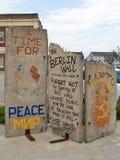 波特兰,柏林围墙 库存照片