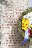 波特利亚della吉内斯特拉1日劳动节2013年 免版税库存照片