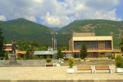 索波特镇中心,保加利亚 库存照片