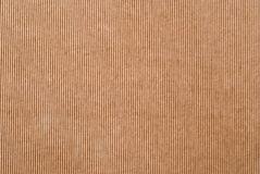 波状纸板纹理 免版税库存照片