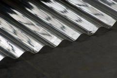 波状钢塑料 库存照片