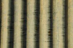 波状钢背景 免版税图库摄影