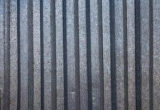 波状钢背景 免版税库存图片