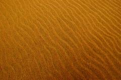 波纹沙子 免版税库存照片