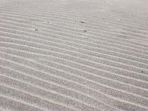 波纹沙子 免版税库存图片