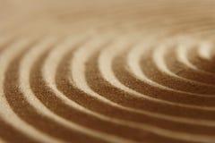 波纹沙子 库存图片