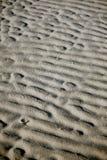 波纹沙子 免版税图库摄影