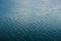 波纹河表面纹理 免版税库存图片